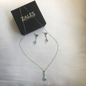 Zales Necklace and Earring Set
